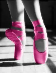 Pink Ballet Shoes by Ruki-the-Gazette