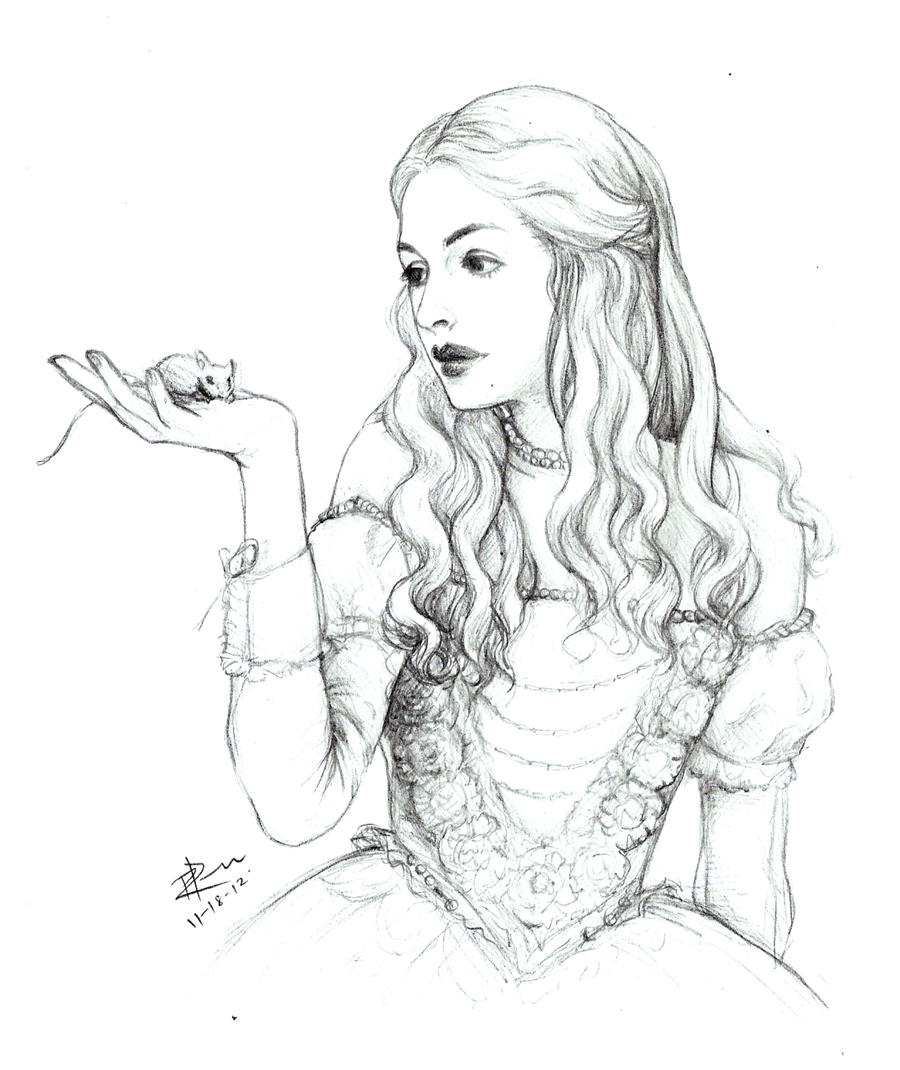 Vampire Queen Coloring Pages