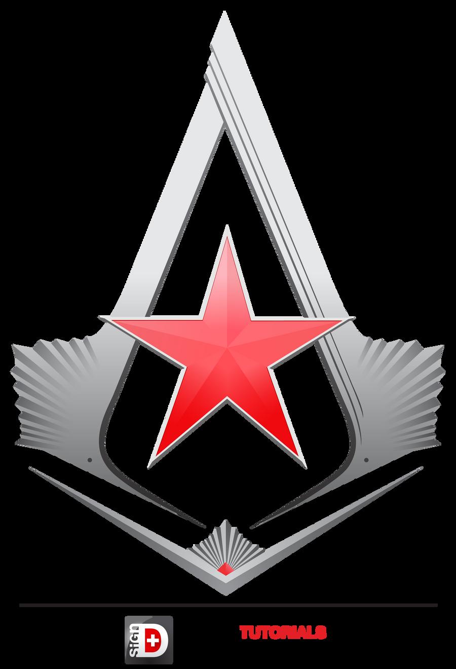 Assassin's Creed Soviet Star Logo