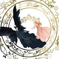 Maleficent Fan Art by Hagiym