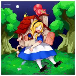 Alice in Wonderland by Hagiym