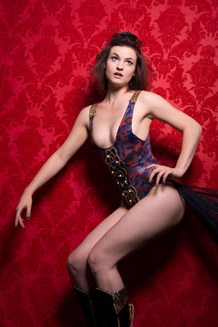 Bedazzled Leotard by ArtemisAesthetic