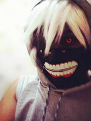 Kaneki's Cosplay - Tokyo Ghoul by Nikazuki