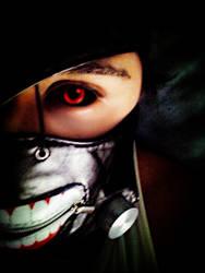 Kaneki's Mask - Tokyo Ghoul by Nikazuki
