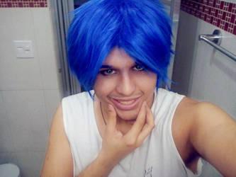 Kaito's Wig (different hairstyle) by Nikazuki