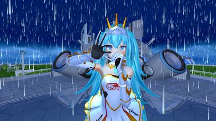 Princess Racing Miku 2015 - Dream Fighter by Nikazuki