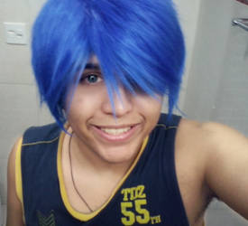Blue Hair by Nikazuki