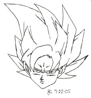 Goku 1 by Kaylesha-Blackheart