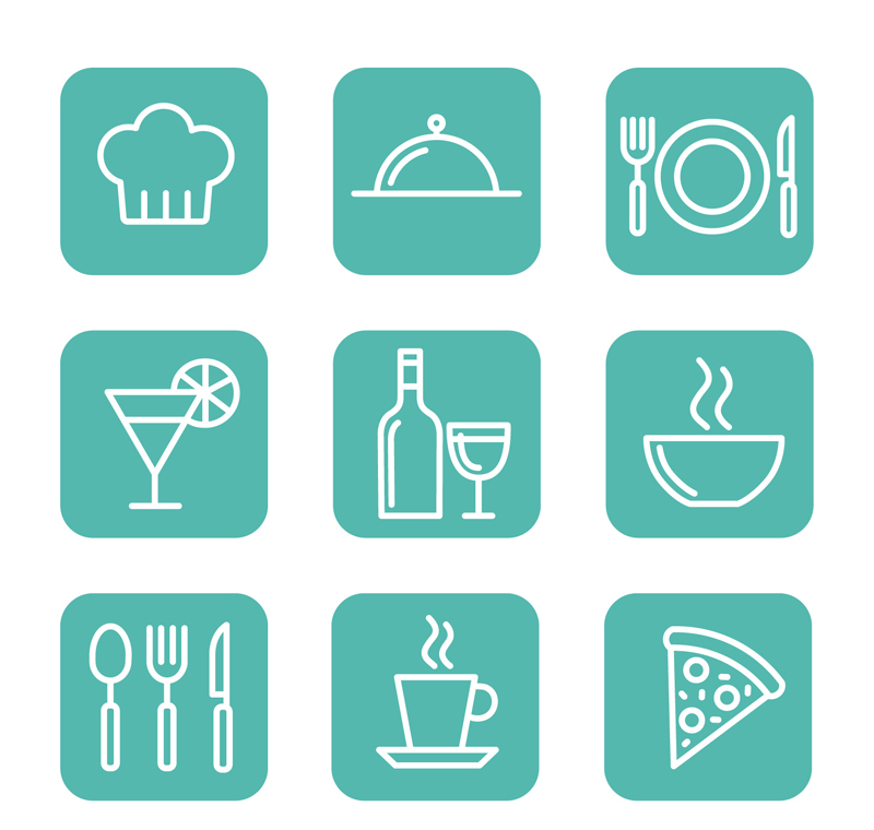 Square Dining Icon Vector by FreeIconsdownload on DeviantArt