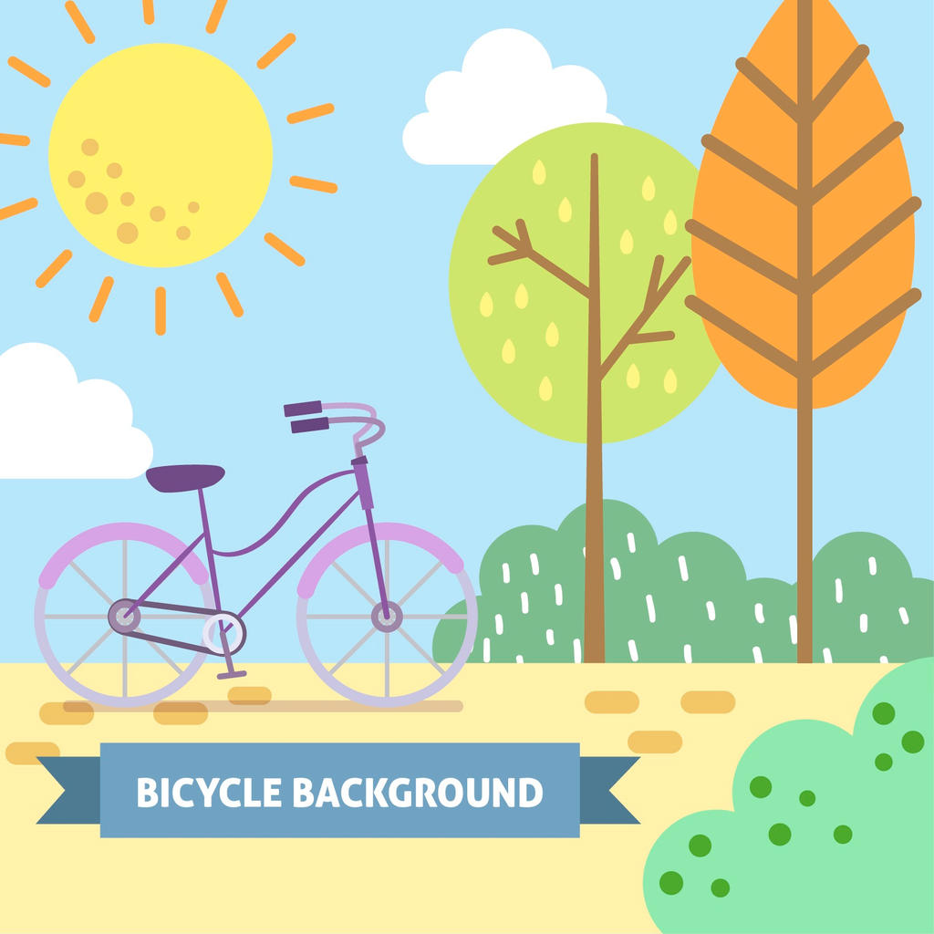 Bicycle Vector Background by FreeIconsdownload on DeviantArt