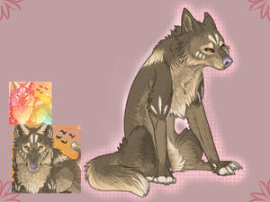 PREMADE - Wolf - SOLD!