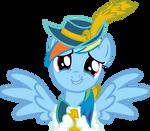 MLP Magical Mystery Cure Rainbow Dash vector