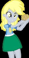Equestria Girls Derpy Vector by kapicator