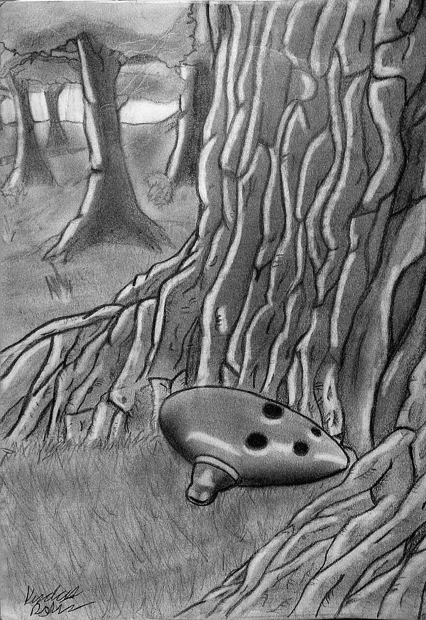Ocarina by McKravendrawings