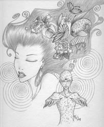 Into my mind... by WaruiNeko