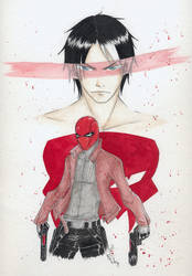 Under the Red Hood...