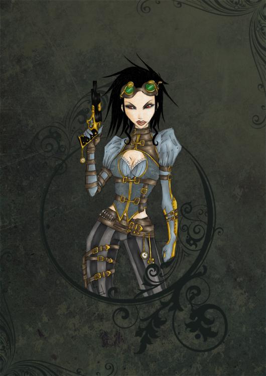Lady Mechanika by WaruiNeko