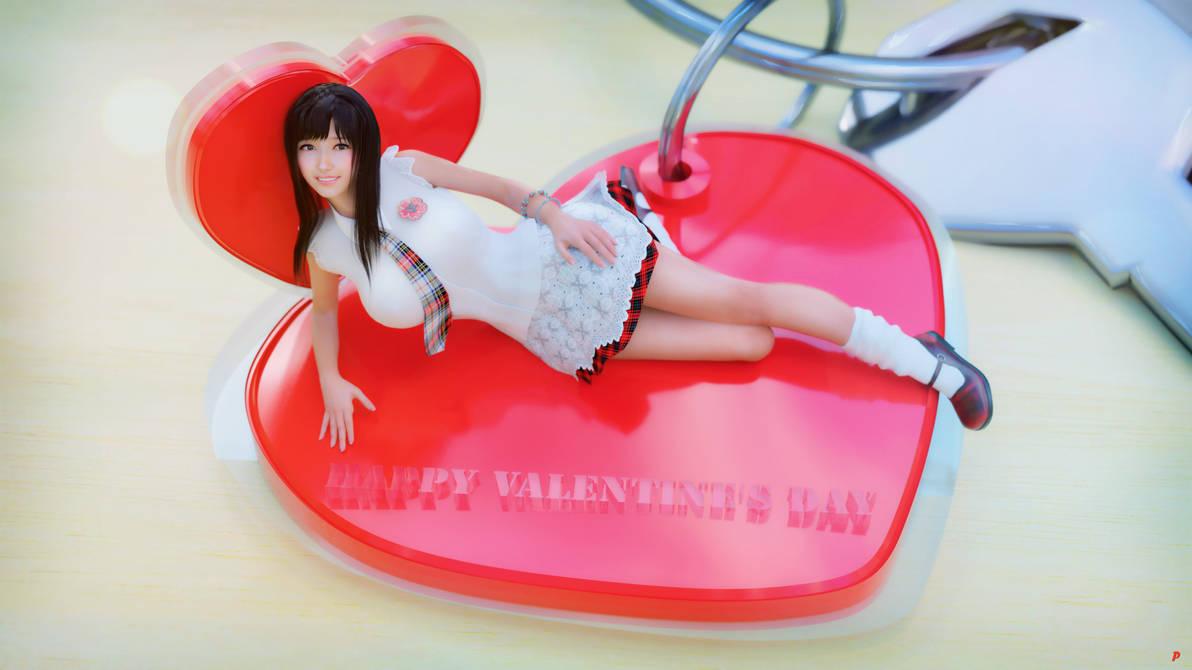 Happy Valentine's Day!Enjoy the 6K Wallpaper! by ptmaster2