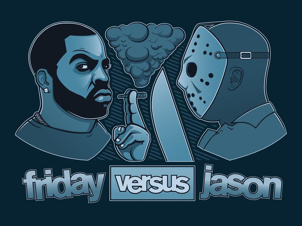 Friday Versus Jason by GriftGFX