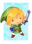 Chibi Link Sketchcard
