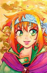 Orange elf