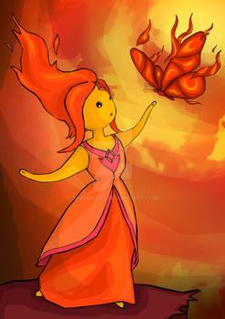 Flame Princess (commission)
