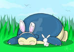 snorlax bunny (for shane)