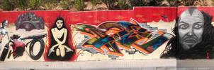Mural MadMax by koolkiz