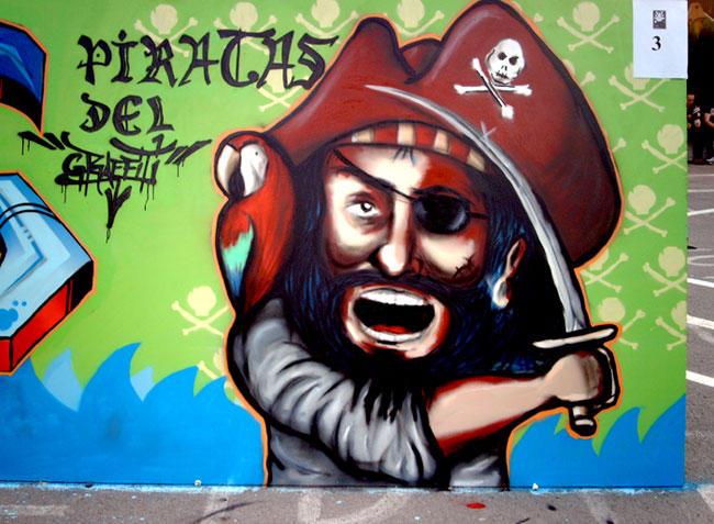 Piratas del Graffiti by koolkiz