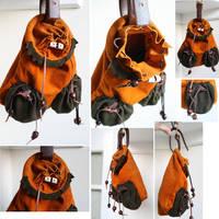 Medieval Hawking Bag by Archanejil