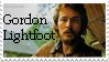Gordon Lightfoot stamp by Itakaro-icon