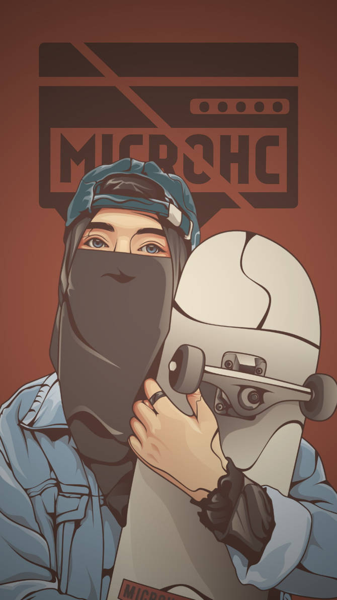 Wallpaper Muslimah Skateboard HD Mobile By Microhc On DeviantArt