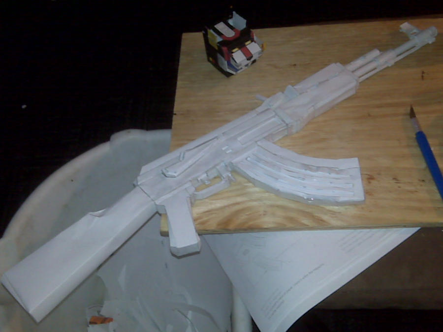 paper ak 47 The ak-47, ak, or as it is officially known also known as the kalashnikov, is a gas -operated,  world bank policy research working paper 4202 (post-conflict  transitions working paper no 10) oxford university p 3 retrieved 3 april 2010.