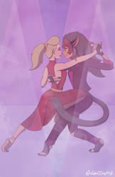 Takes Two to Tango by Katipillar-Art