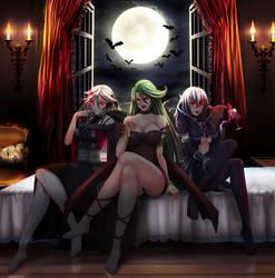 Vampire Fraulein, Camula and Vampire Vamp (Comm)