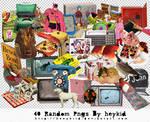 40 Random Pngs By heykid