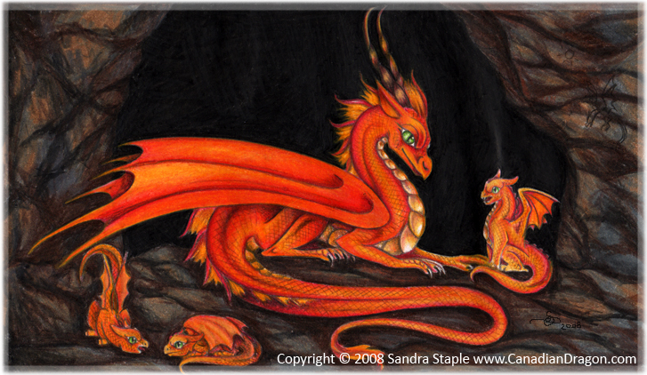 Image result for mother and baby dragons pictures