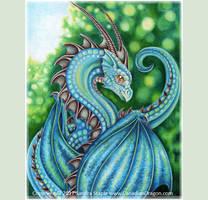 Summer is Here -Blue Dragon 2017 Sandra Staple