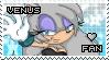 Venus the Hedgehog Stamp by Karmarsi-Kedamoki
