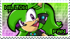 Willow the Hedgehog Stamp by Karmarsi-Kedamoki