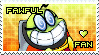 Fawful the Bean Kid Stamp by Karmarsi-Kedamoki