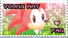 Young Amy Rose Stamp by Karmarsi-Kedamoki