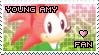 Young Amy Rose Stamp by Karmarsi-Kedamoki