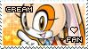 Cream the Rabbit Stamp by Karmarsi-Kedamoki