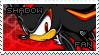 Shadow the Hedgehog Stamp by Karmarsi-Kedamoki