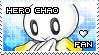 Hero Chao Fan Stamp by Karmarsi-Kedamoki