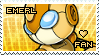 Emerl Fan Stamp by Karmarsi-Kedamoki