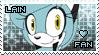 .: P.C :. Lain Stamp by Karmarsi-Kedamoki