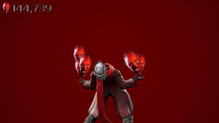 SC6 Dante using lots of Faust's power
