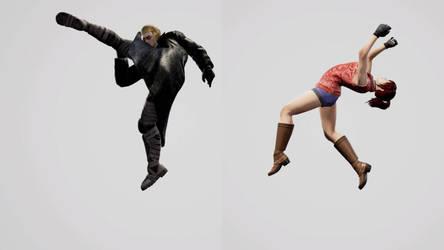 SCVI Wesker VS Claire